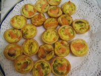 Mini-Quiches au saumon fumé